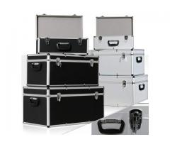 DJ-Equipment  3er SET DJ Alu Boxen ✓ Alubox ✓ Alukiste ✓